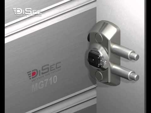 Mg710 Blocco Magnetico Serrande Disec By Marco Pazzaglia