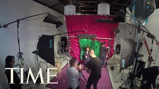 Game Of Thrones Cover Shoot Time-Lapse Featuring Kit Harington, Emilia Clarke, Peter Dinklage | TIME