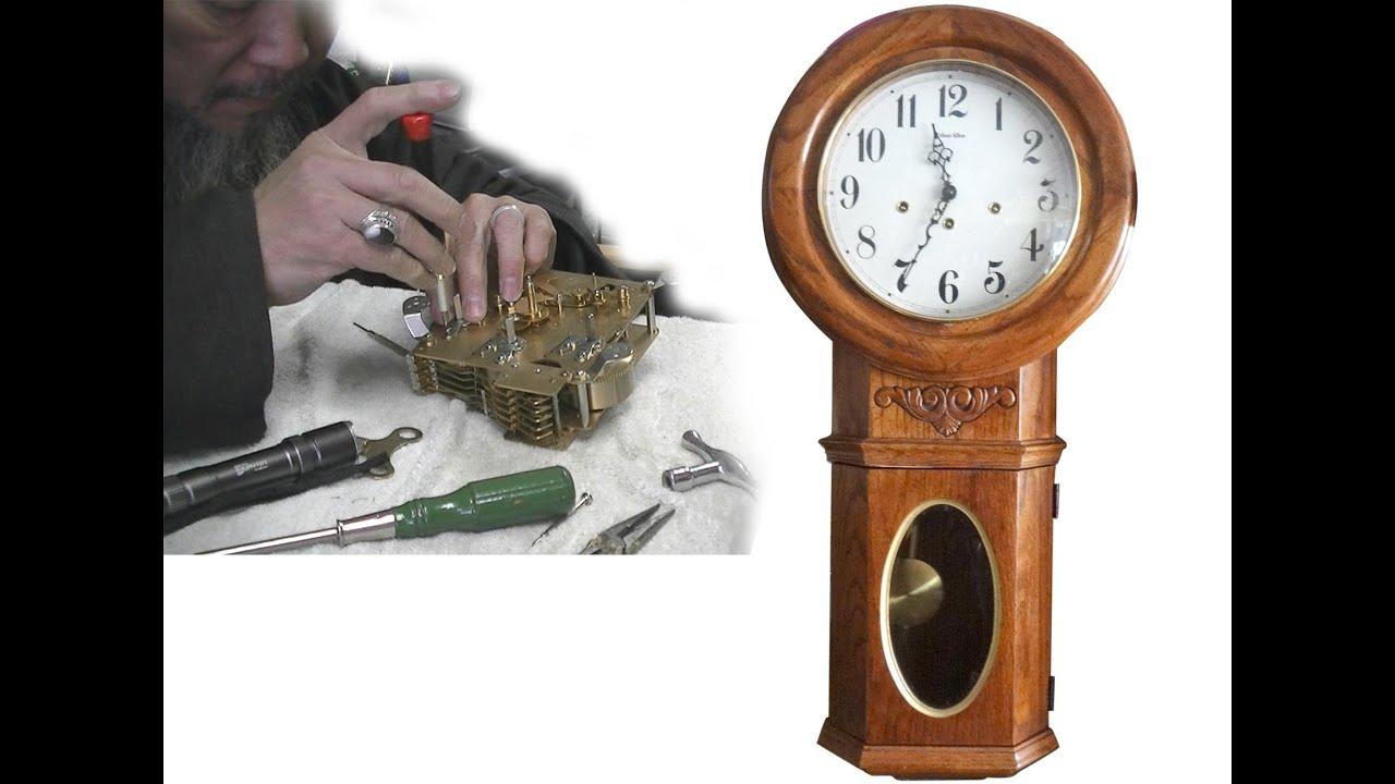 ethan allen wall clock repair youtube ethan allen wall clock repair amipublicfo Choice Image
