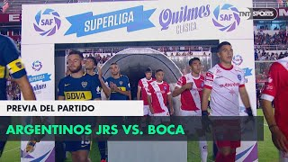 Argentinos vs Boca, la previa