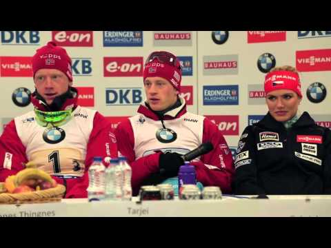 Norway, Germany and Czech Republic Mixed Relay