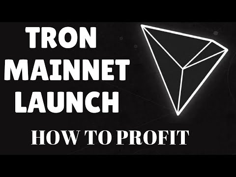 TRON MAINNET - WHY TRON WILL RISE - How I Will Trade Trx For Profit