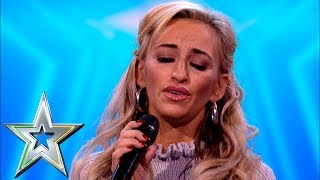 Proud Irish Traveller Sharyn Ward stuns crowd with traditional Irish song | Ireland's Got Talent