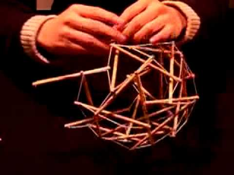 Building A Tensegrity Model Youtube