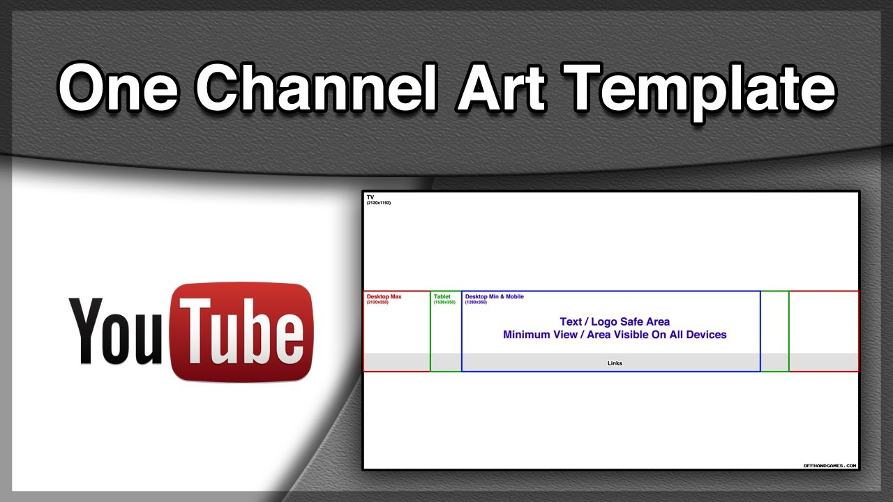 youtube one channel art template youtube. Black Bedroom Furniture Sets. Home Design Ideas