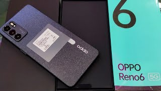 Oppo Reno 6 5G Stellar Black Unboxing, First Look & Review!!A Balance Phone From Oppo @OPPO India