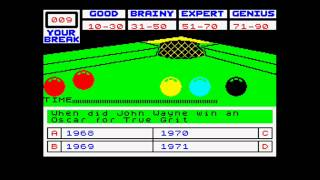Snookered ZX Spectrum