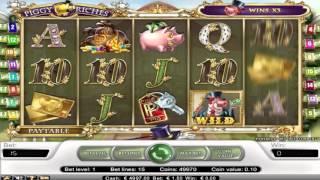 Free Piggy Riches slot machine by NetEnt gameplay ★ SlotsUp
