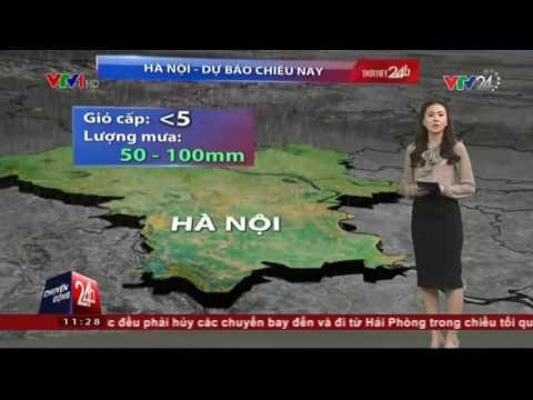 Cập nhật tình hình diễn biến cơn bão số 1| VTV24