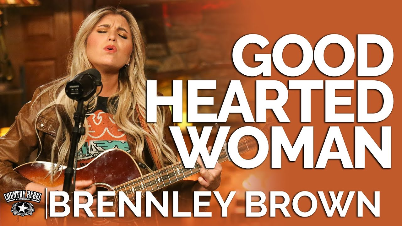 Brennley Brown - Good Hearted Woman (Acoustic) // Fireside Sessions