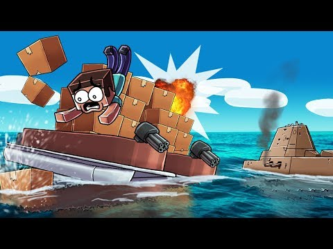 Minecraft | SECURE UNDERWATER BOX FORT CHALLENGE! (Protect the Hidden Block)