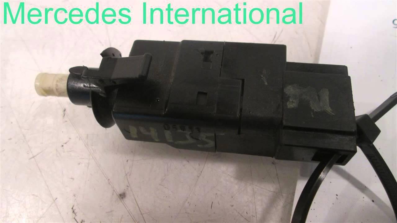 2006 mercedes e350 brake light switch 0015454009 used oem mercedes parts dis. Black Bedroom Furniture Sets. Home Design Ideas