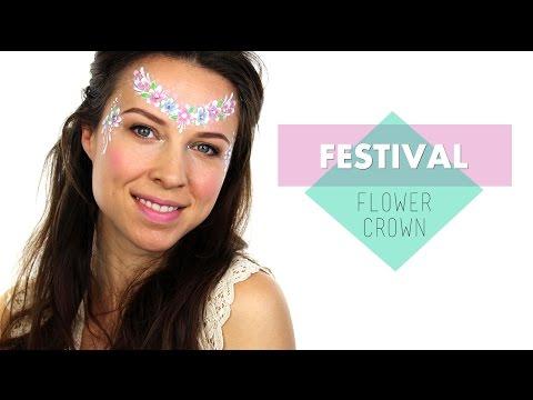 Flower Crown Face Painting | Ashlea Henson