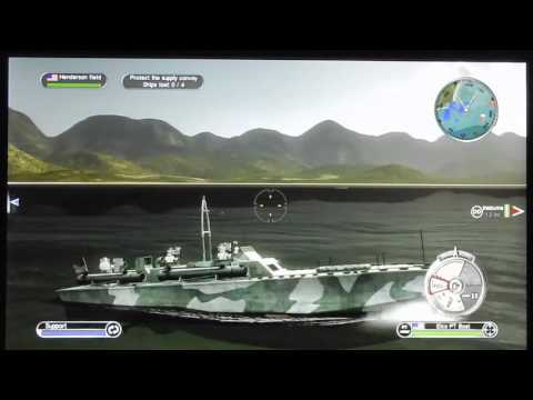 Let's play Battlestations Pacific U S  cam  nr 4-I MISSED AGAIN!!!