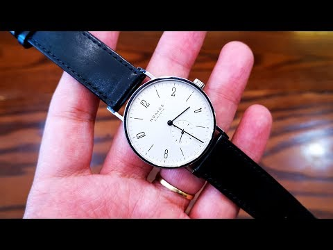 [Review Đồng Hồ] Nomos Tangente 38mm Hand Winding   ICS Authentic