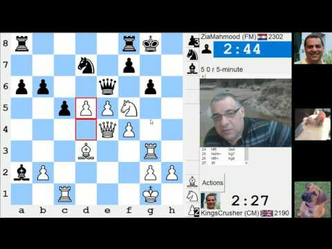 LIVE Blitz #3593 (Speed) Chess Game: White vs ZiaMahmood in QGD: classical variation (5.Bf4)