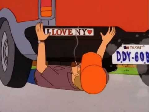 Hank Hill Damnit Dale #1 - I LOVE NY