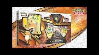 Opening 6x Pokemon Raichu GX Collection Boxes