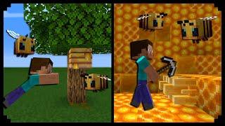 12 Cosas Que No Sabías De Las Abejas En Minecraft