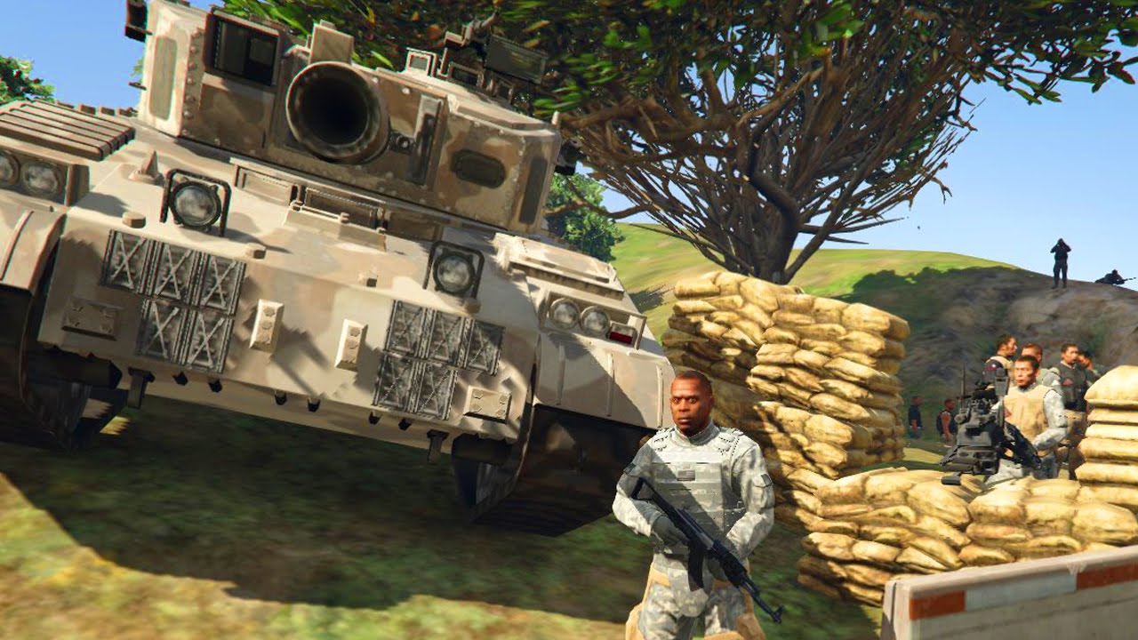 GTA 5 BEST MOMENTS - MILITARY BASE RAID! (XpertThief Funniest Moments)