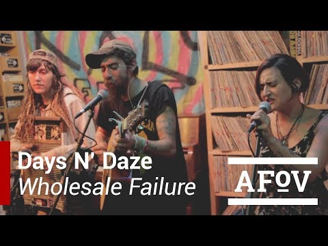 "Days N' Daze - ""Wholesale Failure"" A Fistful Of Vinyl sessions on KXLU"