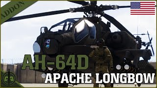 Arma 3 | AH-64D Apache Longbow Addon ᴴᴰ