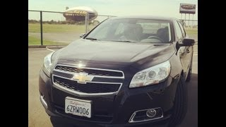 Review: New Chevy Malibu - a sporty sedan with substance thumbnail