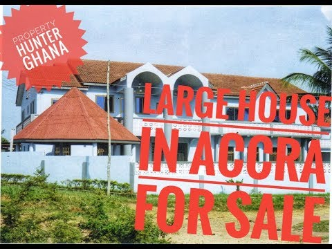 Large House in Accra For sale Good for hotel, church or office compl