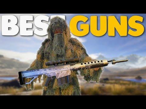 10 MOST POPULAR Weapons in Ghost Recon Wildlands