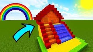 НУБ НАШЕЛ ВОДНУЮ ГОРКУ В Майнкрафте! Minecraft Мультики Майнкрафт троллинг Нуб и Про