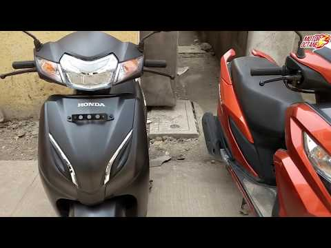 Honda Grazia vs Honda Activa 5G Comparison in Hindi | MotorOctane