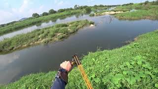 Охота с Рогаткой SLINGSHOT FISHING АРХИВ
