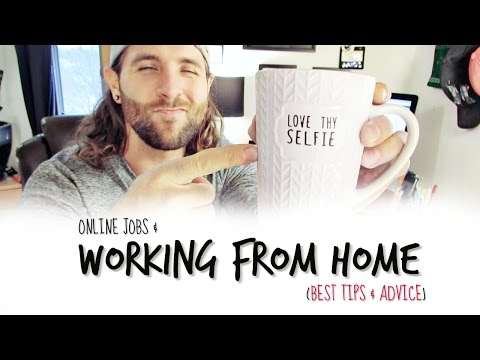 Online Jobs & Working From Home (Best Tips & Advice)
