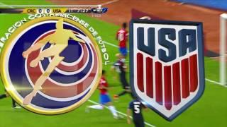 Costa Rica 4 - Estados Unidos 0
