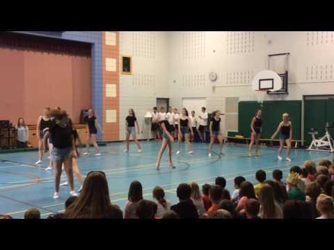 St Matts grade 8 dance challenge 2017