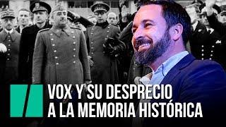 El desprecio de Vox a la Memoria Histórica