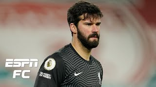 How does Alisson make the same mistake TWICE vs. Manchester City? | ESPN FC