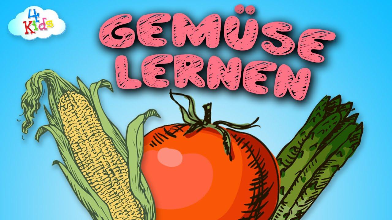 Gemüse Lernvideo für Kinder und Kleinkinder. Lebensmittel ...