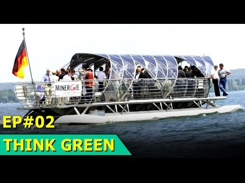 Solar Powered Boat on The Serpentine Lake | London, UK | Think Green : Episode 02