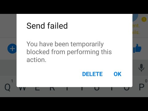 How To Unblock Temporary Sending SMS Block In Facebook