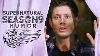Supernatural | Season 9 HUMOR | Oh, Cas, such a flirt!