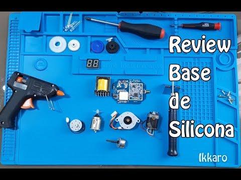 Review base de silicona para DIY ¿Aguantará el soldador a 500ºC?