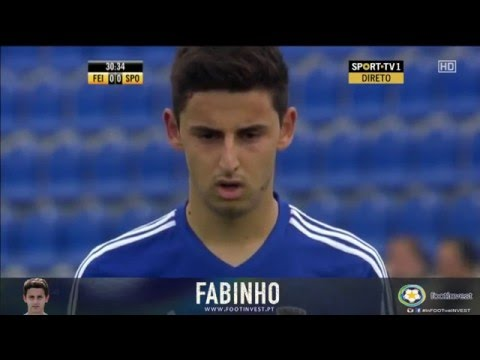 Fabinho | Midfielder | ► Best Moments | Feirense