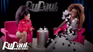 The Pit Stop S12 E5 | Yuhua Hamasaki Kikis With Bob The Drag Queen | RuPaul's Drag Race