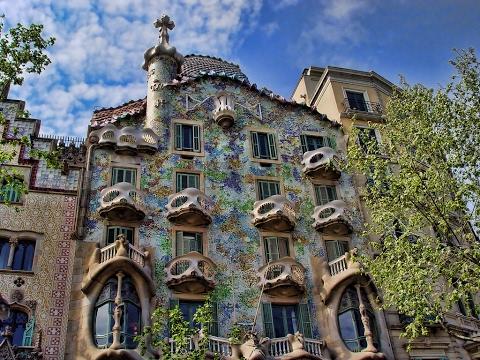 Casa Batlló de Barcelona (España) - Arquitectura