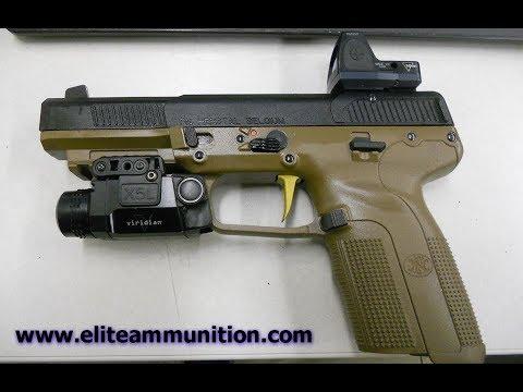 Elite Ammunition Five Seven Red Dot Manufacturing Fn Fiveseven Red Dot Mounts Youtube
