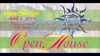 Blue Sun Fusion Belly Dance Open House Commercial