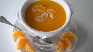 Velouté De Carottes Et Orange /carrot And Orange Soup