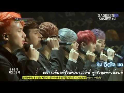 [Karaoke/Thaisub] VIXX - I Don't Want To Be An Idol Live ver.