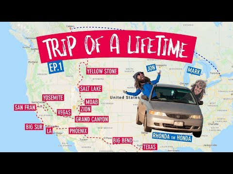 INTRODUCTION to our USA and SOUTH AMERICA trip!!
